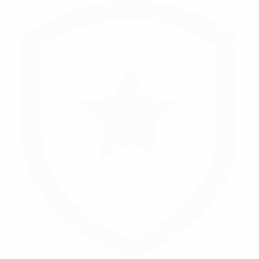 shield with star icon